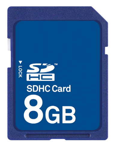 SD Card – 8GB
