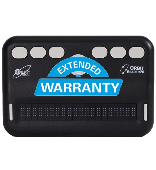 Extended warranty for Orbit Reader 20